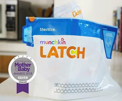 Munchkin Microwave Bottle Sterilize Bags 6 PACK (180 Uses)