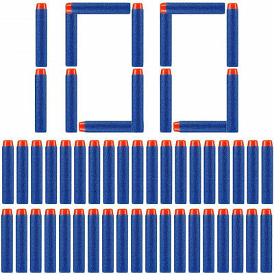 Tactical Vest Jacket Pocket+60x Refill Bullets For Nerf Gun N-Strike Elite Game