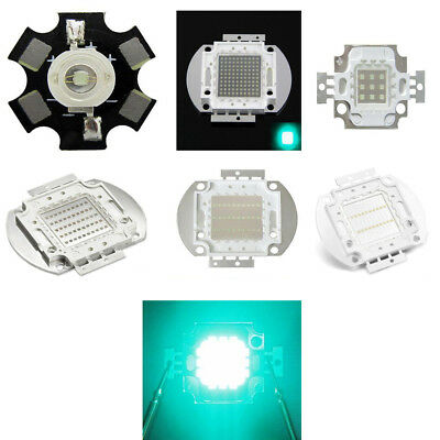 1W 3W 5W 10W 20W 30W 50W 100W Cyan Turquoise 495nm - 500nm High Power LED Chip