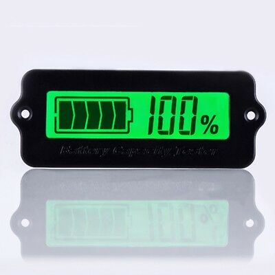 12V Lead Acid Battery Capacity Indicator LCD Digital Display Power Tester