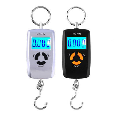 LCD Portable Digital Electronic Scale Pocket 45kg/10g Luggage Hanging Fishing