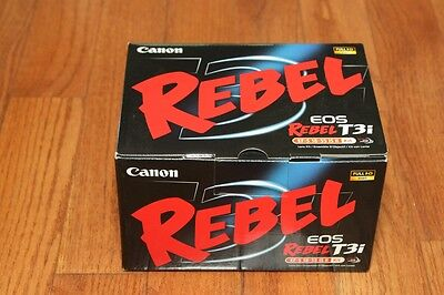 **NEW** Canon EOS Rebel T3i 600D SLR Camera Kit w/ EF-S IS 18-55mm IS II Lens