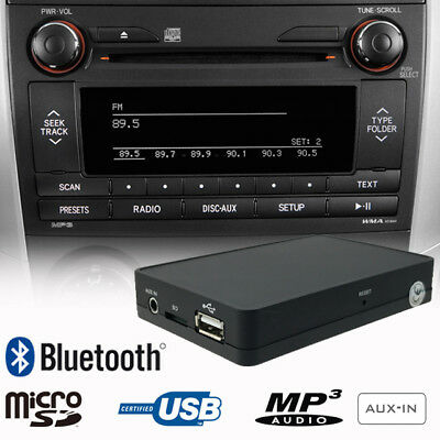 Bluetooth USB SD AUX CD Changer Adapter Car Kit for TOYOTA Auris Avensis Corolla