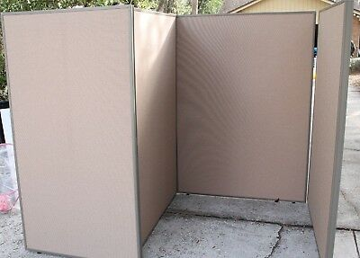Bush Office Cubical Partition Wall Boards (4 Count) Local Pick Up Only (Orlando)