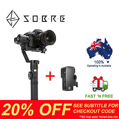 Zhiyun Crane 2 (2018 Newest Ver) 3-Axis Handheld Gimbal Stabilizer for Camera AU