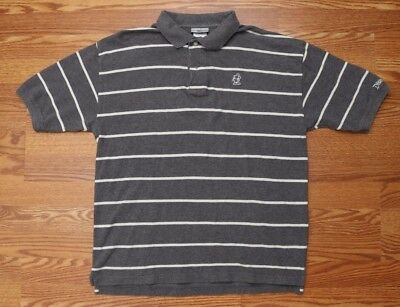 Disneyland Resort Mens Polo Shirt Size Small Mickey Mouse Logo Cotton SS Gray