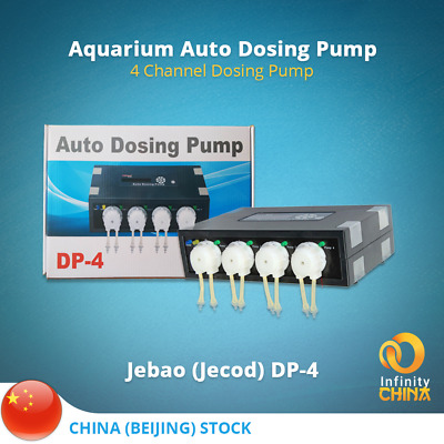 Fish & Aquariums Free Shipping Jebao Dp-5 Version 2 Auto Smart Dosing Pump For Fish Saltwater Mar