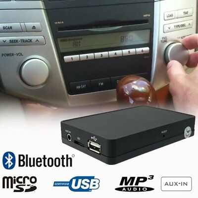 Bluetooth USB SD MP3 CD Changer Adapter Interface Car Kit for LEXUS GX RX