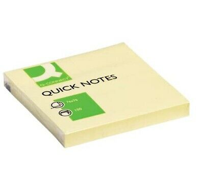 Haftnotizen gelb post notes Notiz Mitteilungen Klebezettel Pergamy 76 x 76 mm