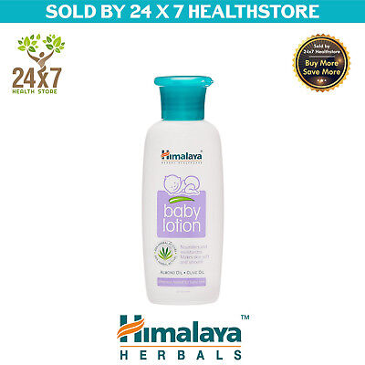 HIMALAYA BABY LOTION 100ML WITH ALMOND AND OLIVE OIL Free Shipping Worldwide