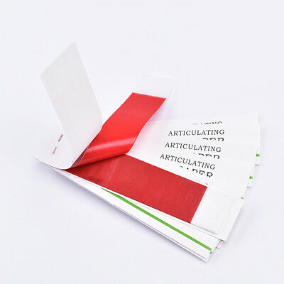 promotion sale 10sheets /20Books Dental Red Articulating Paper Strips