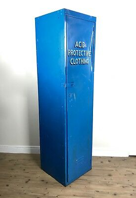 Vintage Industrial Locker / Cabinet / Cupboard / Large / Shop Display / Retro