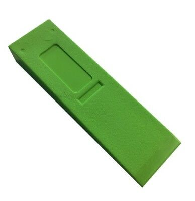Arborist Felling Wedge, Hard Body Hi-Viz Green Wedge 10""