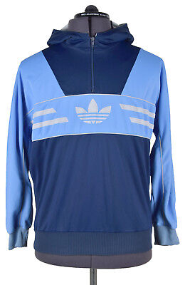 adidas track top giacca vintage felpa con cappuccio colorado occidentale