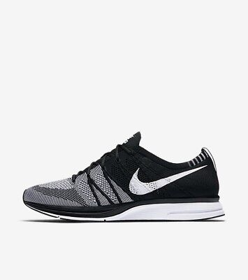 Nike Flyknit Trainer Black White Oreo 6-15 AH8396-005 LIMITED 100% Authentic 2e1c56ea0