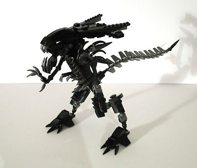 Lego Alien Xenomorph Queen Moc By Johnny Butler Instructions Only