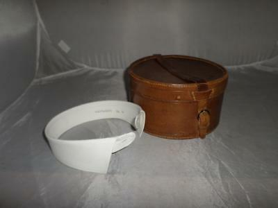 Vintage/Antique Gents Leather Cased 5 Collar Set- New & Lingwood/ Coles- 41/42cm
