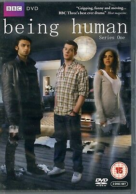 Being Human - Series 1 Complete (DVD, 2009, 2-Disc Set) GOOD