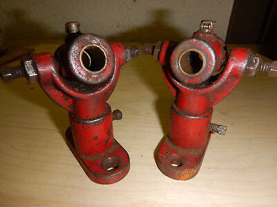 Vintage Small Line Shaft Bearing Hangers  W/ 1/2 Bore