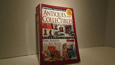 Price Guide Book Antiques And Collectibles 15 Edition By Alberta And Maier