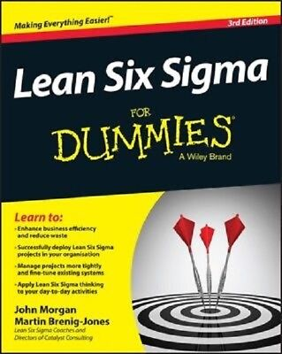 Lean Six Sigma For Dummies  2015  PDF Read on PC/SmartPhone/Tablet