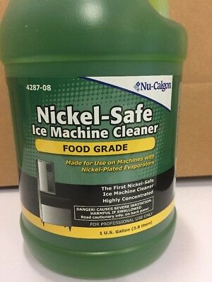 NuCalgon Nickel-Safe Ice Machine Cleaner 1 Gallon 4287-08