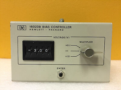HP / Agilent 16023B 0 to +/- 99.9 V, Bias Controller. For 4274A Meters. Tested!