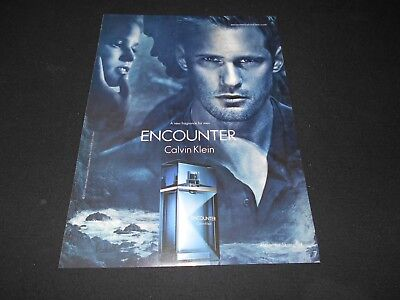 CALVIN KLEIN men's cologne / grooming magazine ads lot * Free Obsession Be