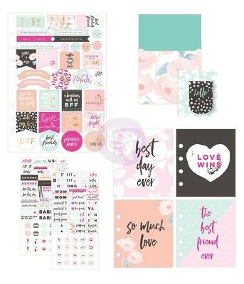 My Prima Planner Goodie Pack Friendship Love - Stickers Bookmark Pocket Inserts