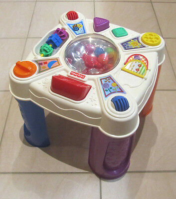 Fisher Price Brilliant Basics Musical Pop-tivity Activity Table - 9+ Months