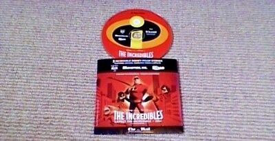 DISNEY PIXAR THE INCREDIBLES PROMO ONLY PC CD ROM 2004 Toy Story Monsters Inc