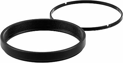 """2"""" / 48mm empty filter cell with retaining ring - fits 45mm diameter filters"""