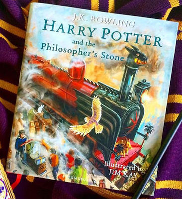 Harry Potter Philosopher's Stone Illustrated 1st UK Edition aka Sorcerer's in US