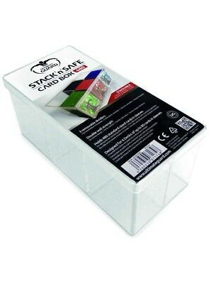 Ultimate Guard - Stack' n'S afe Card Box 480 Clear - Gaming Box, Clear Deck Box
