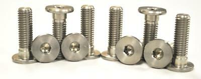Stainless Front Disc Rotor Mount Bolts / Screws BMW R1200 C 03-04