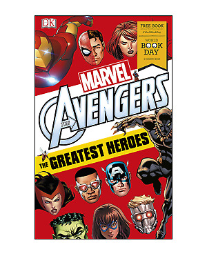 DK Marvel Avengers the Greatest Heroes World Book Day 2018 pbk Inc Black Panther