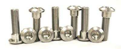 Stainless Front Disc Rotor Mount Bolts / Screws Kawasaki ZZR1200 C1-C2 02-04