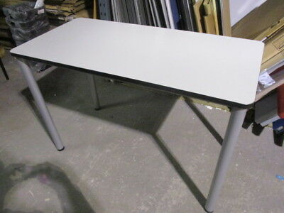 Grey Office Training Table Solid Frame / School Table 1200 x 600mm
