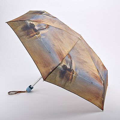 Fulton National Gallery Tiny Folding Umbrella - Turner The Fighting Temeraire