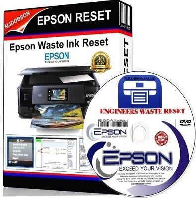 EPSON  XP520 XP620 XP625 XP720 XP760 XP820 WASTE INK PADS RESET Download Item
