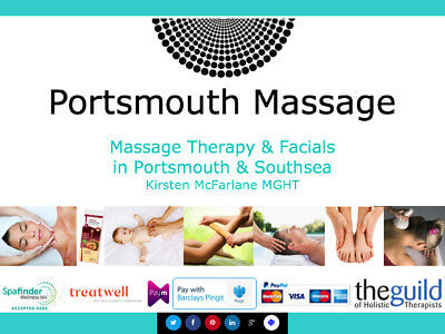 £30 Portsmouth Massage Gift Voucher