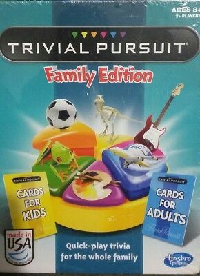 Board Game Trivial Pursuit Family Edition - New