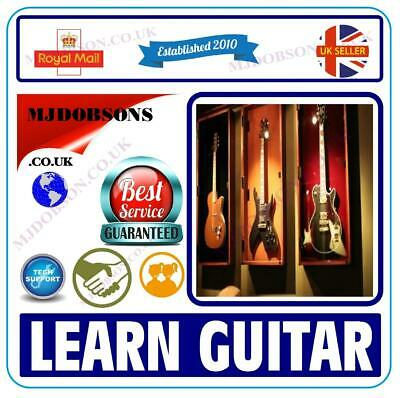 Electric Guitar Beginners Electric Guitar Video Tutorials For Learn To Play Dvd