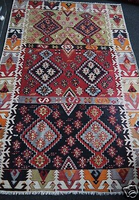 KILIM ANCIEN MALATYA TURQUIE 180x120 / ANTIQUE MALATYA TURKISH KILIM RUG
