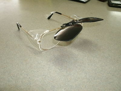 Clip On Shade 5 Flip Up Glasses For Torch Cutting/oxy Ace Welding
