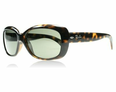Ray Ban Jackie Ohh RB4101 710 Tortoise Frame Green G-15 58mm Lens Sunglasses