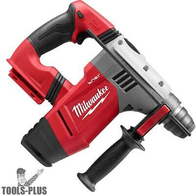 "Milwaukee 0757-20 M28 Fuel 1-1/8"" SDS Plus Rotary Hammer (Tool Only) New"