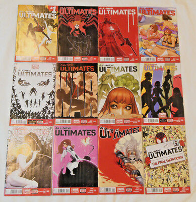 ALL-NEW ULTIMATES #1-12 * Marvel Comic Lot * 12 comics - 1 2 3 4 5 6 7 8 9 10 11