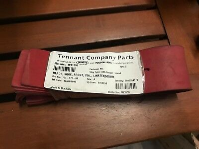"""222242 2 Pack New Graco 32/"""" 1 front//1 rear Squeegee Blade Rep tennant 222241"""