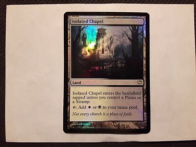 Foil Isolated Chapel x 1 MTG Magic the Gathering - NM